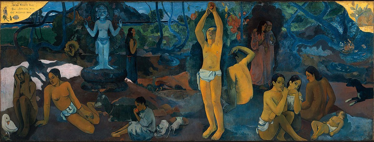 Paul Gauguin, Where do we come from? What are we? Where are we going?