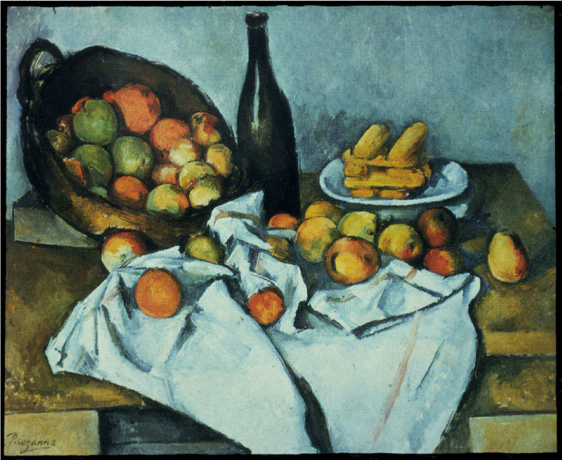 Paul Cézanne, The Basket of Apples