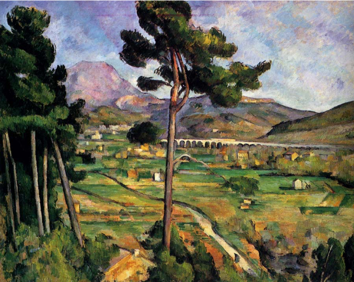 Paul Cézanne, Mont Sainte-Victoire and the Viaduct of the Arc River Valley