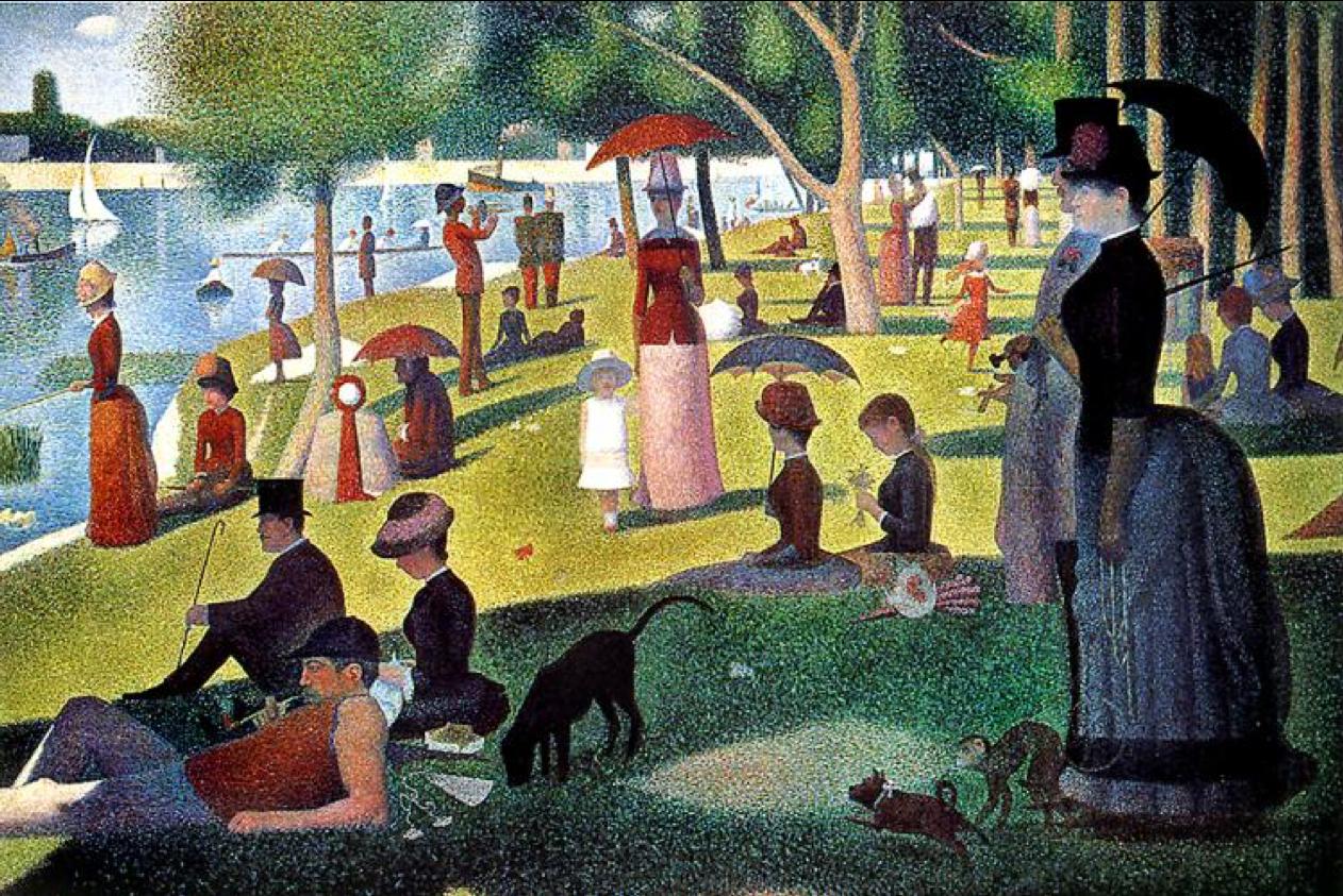 Georges Seurat, A Sunday on La Grande Jatte