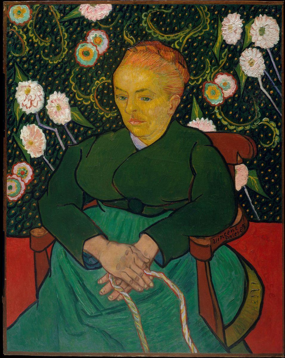 Vincent van Gogh, La Berceuse (Woman Rocking a Cradle; Augustine-Alix Pellicot Roulin, 1851–1930)