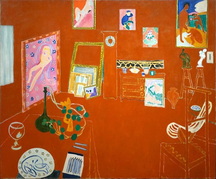 Henri Matisse, The Red Studio