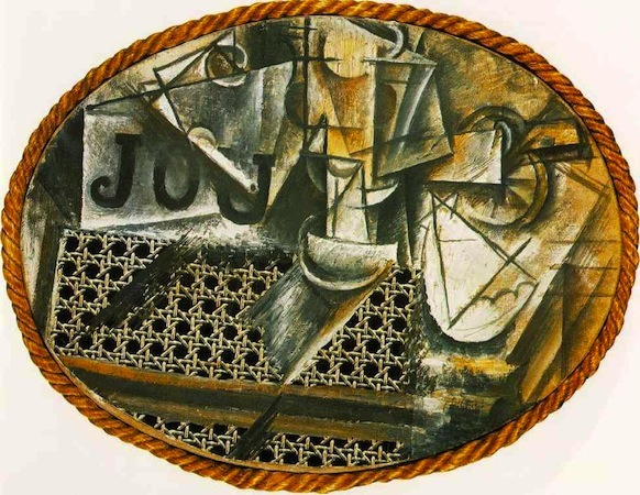 Pablo Picasso, Still Life with Chair Caning