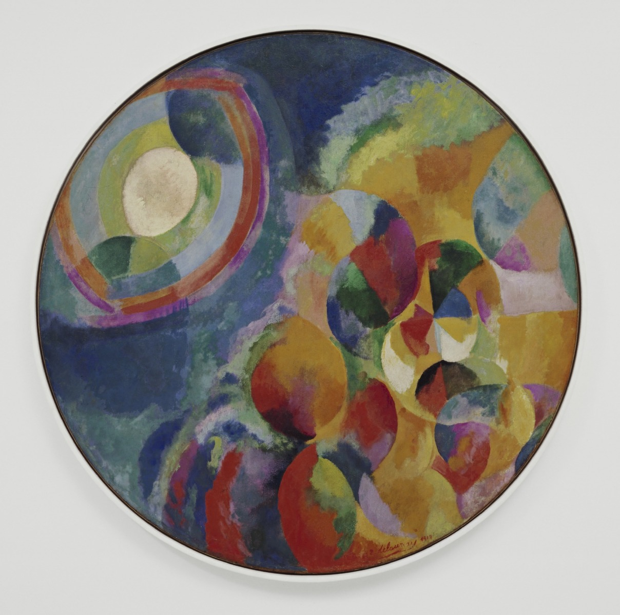 Robert Delaunay, Simultaneous Contrasts: Sun and Moon Paris