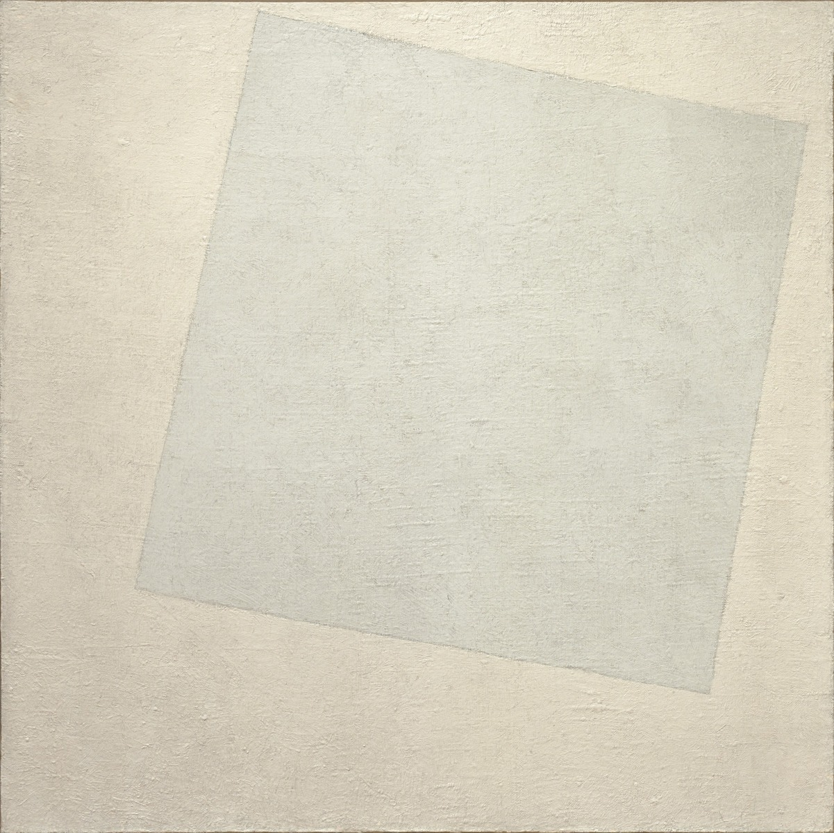 Kasimir Malevich, Suprematist Composition: White on White, 1918