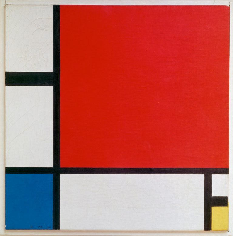 Piet Mondrian, Composition with Red, Blue, and Yellow