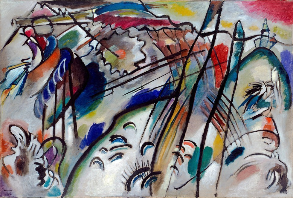 Vasily Kandinsky, Improvisation 28 (second version)