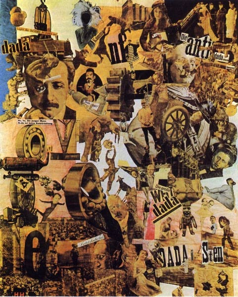Hannah Höch, Cut with the Kitchen Knife Dada Through the Last Weimar Beer-Belly Cultural Epoch of Ge