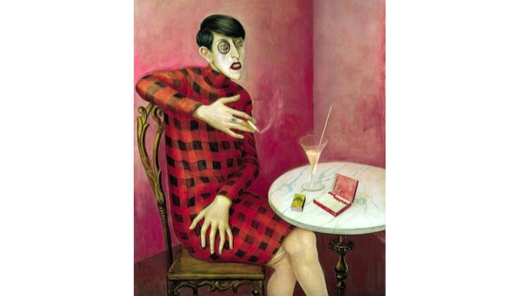 Otto Dix, Portrait of the Journalist Sylvia von Harden